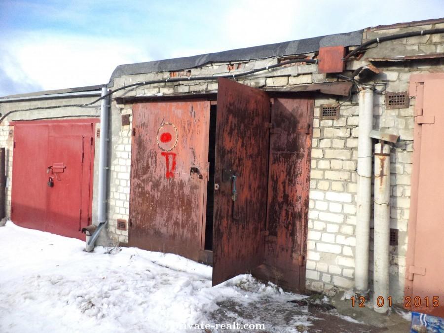 неприватизированный гараж
